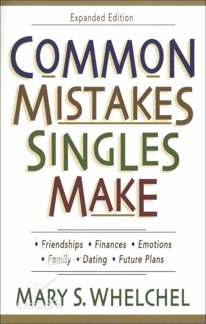 Common Mistakes Singles Make eBook