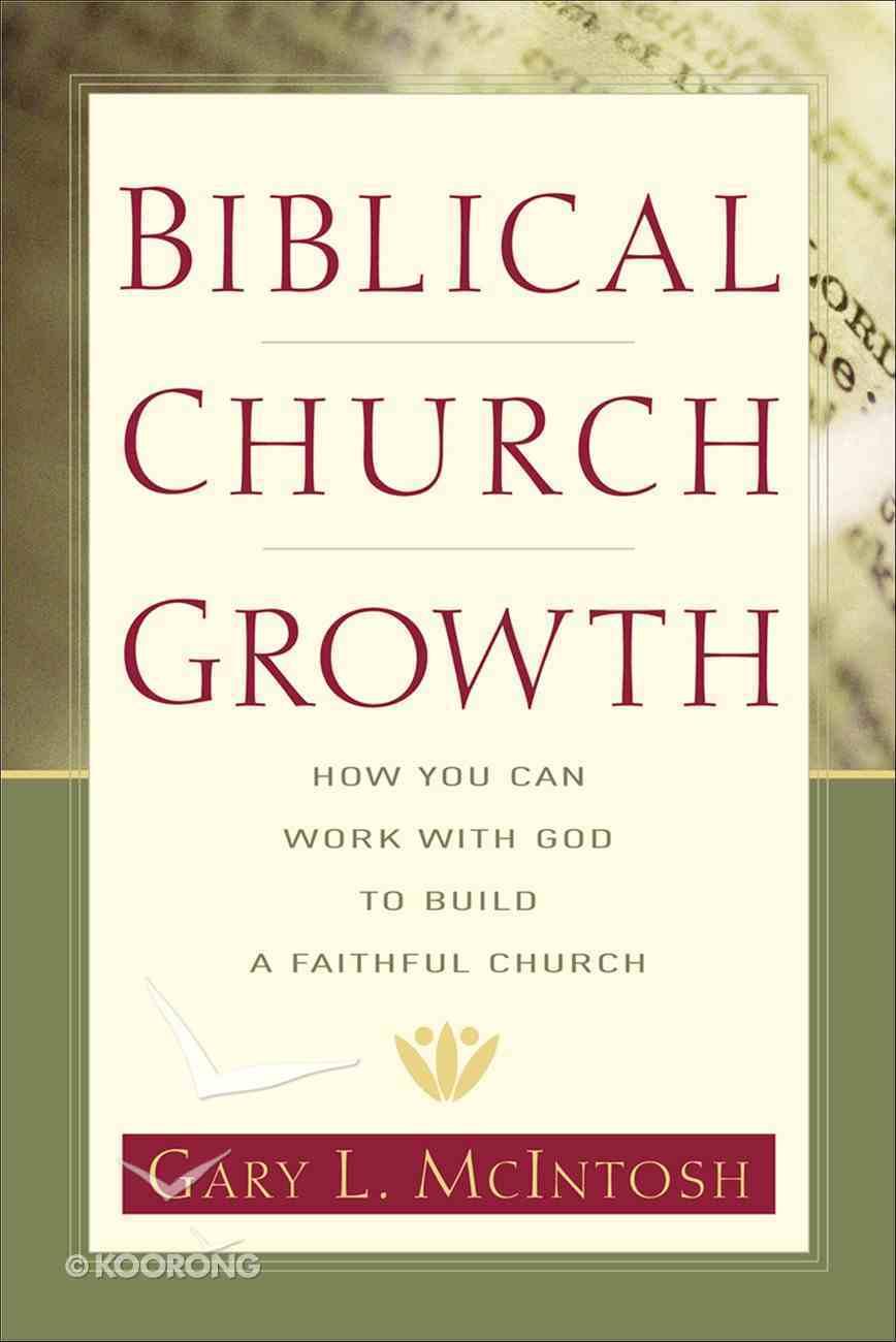 Biblical Church Growth eBook