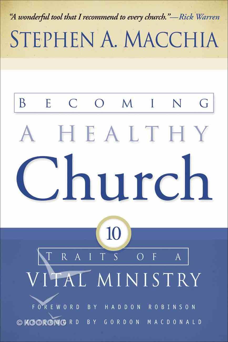 Becoming a Healthy Church eBook