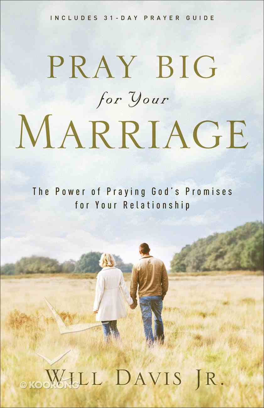 Pray Big For Your Marriage eBook