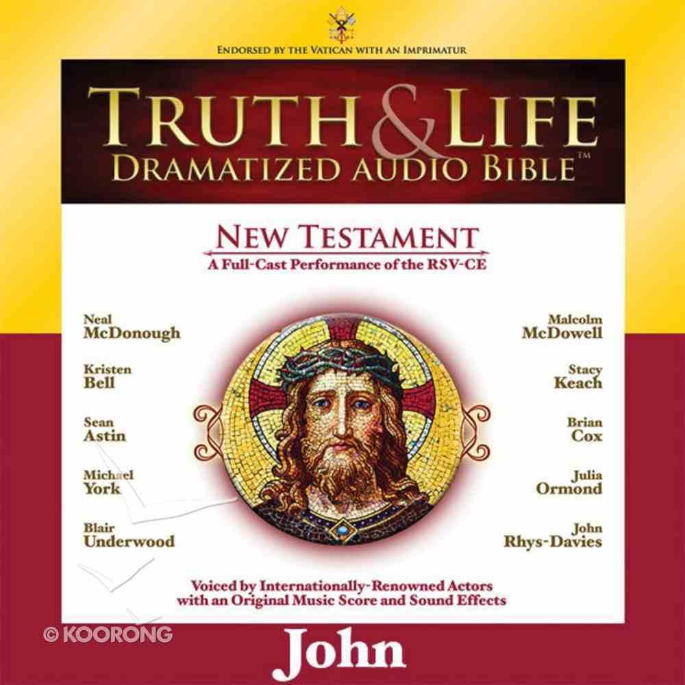Truth and Life Dramatized Audio Bible New Testament: John, Audio eAudio Book