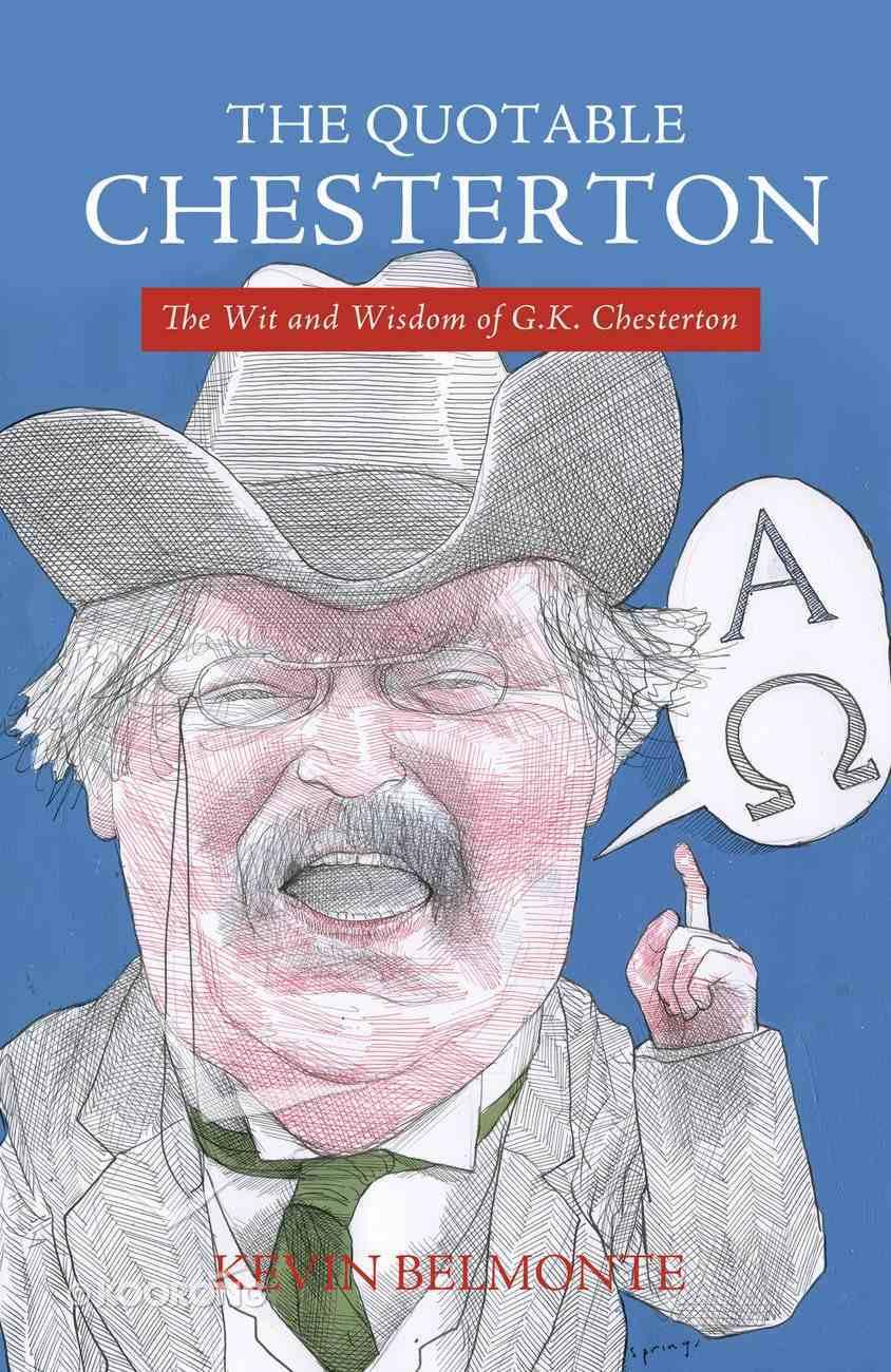 The Quotable Chesterton eBook
