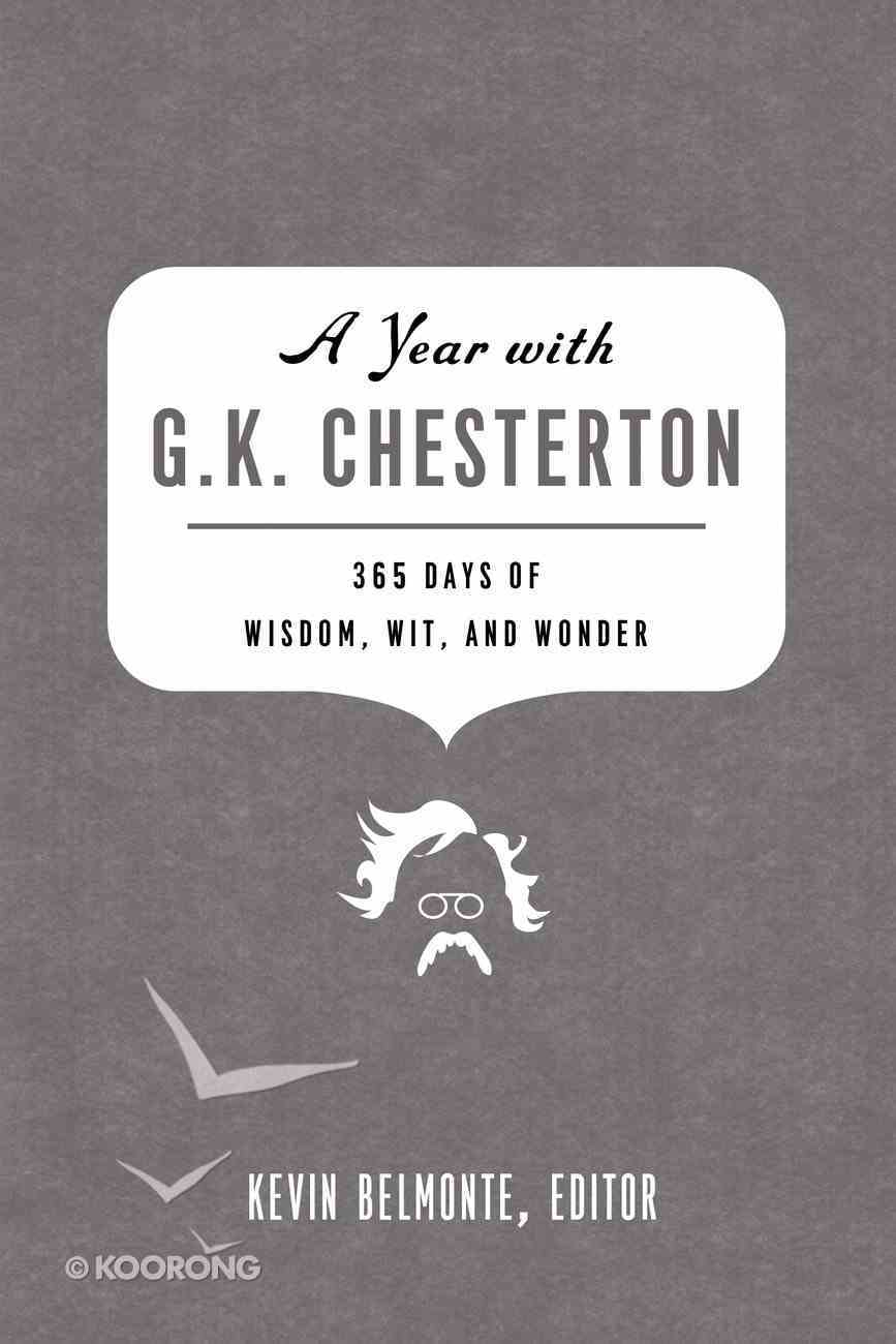 A Year With G.K. Chesterton eBook