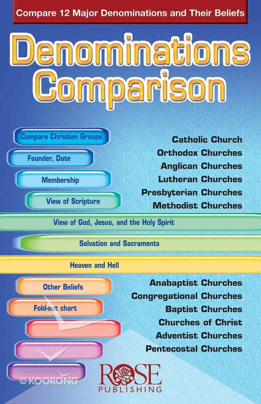 Denominations Comparison (Rose Guide Series) eBook