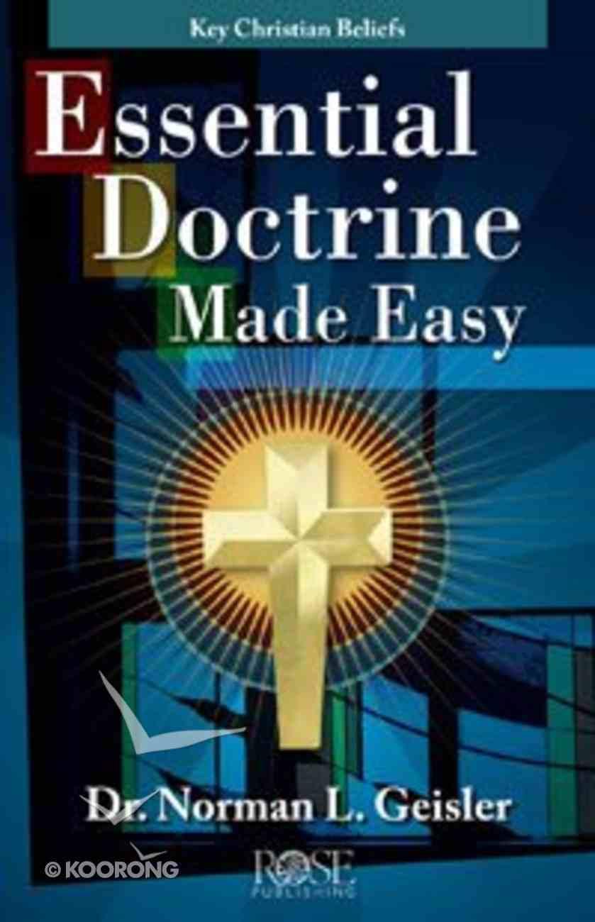 Essential Doctrine Made Easy (Rose Guide Series) eBook
