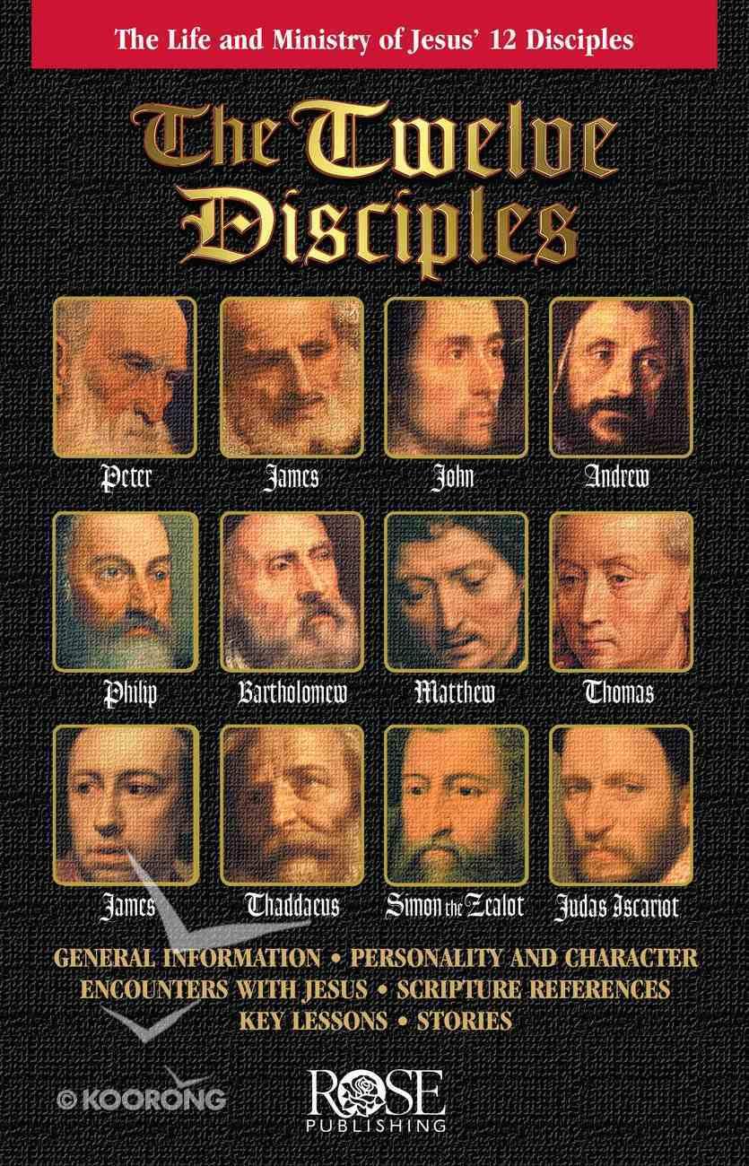 Twelve Disciples (Rose Guide Series) eBook