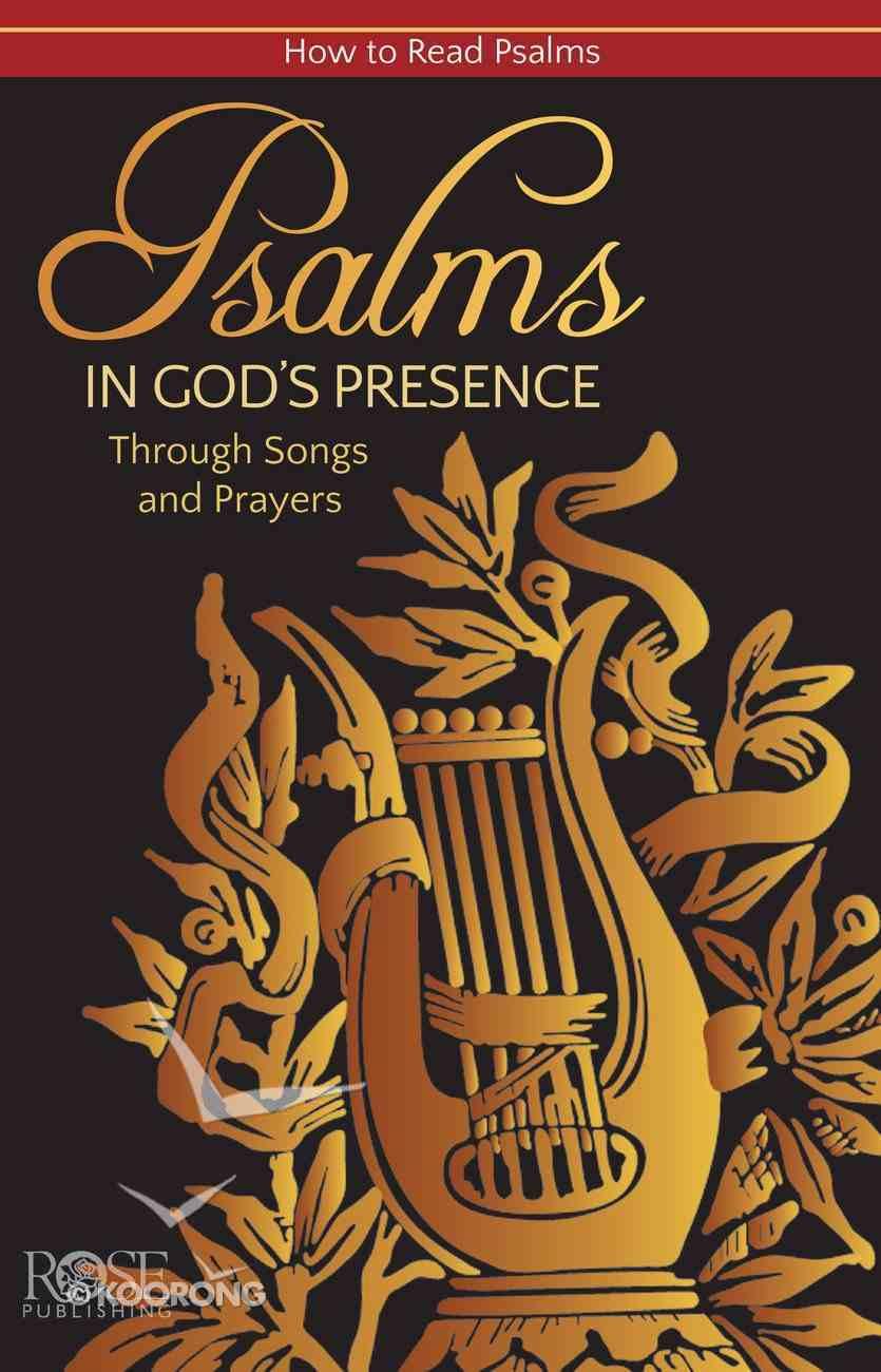 Book of Psalms (Rose Guide Series) eBook