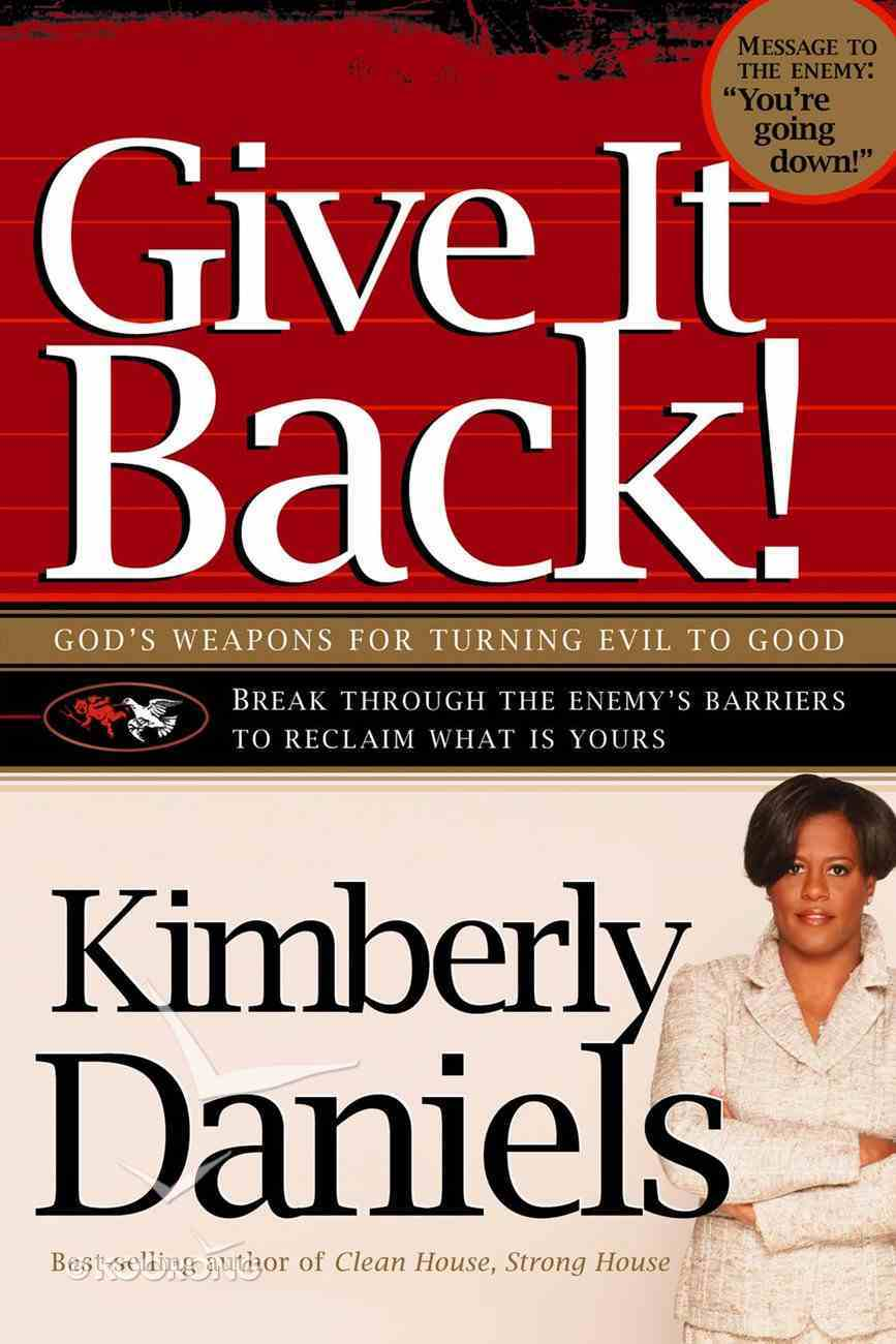 Give It Back! eBook