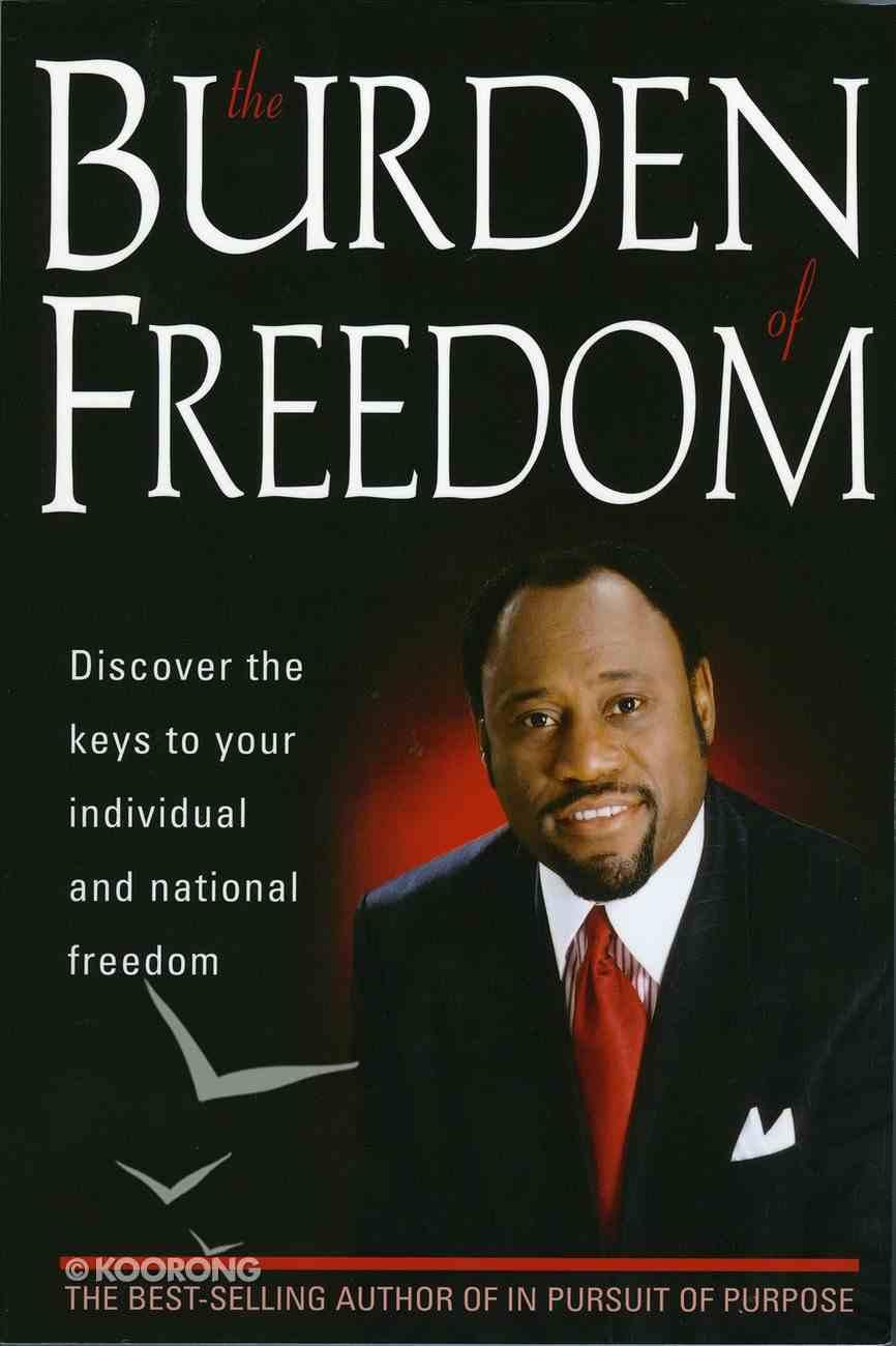 Burden of Freedom eBook