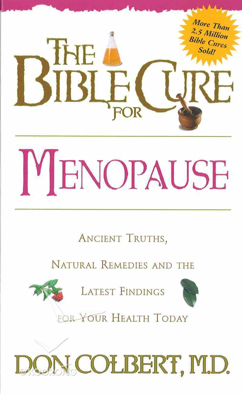 The Bible Cure For Menopause eBook
