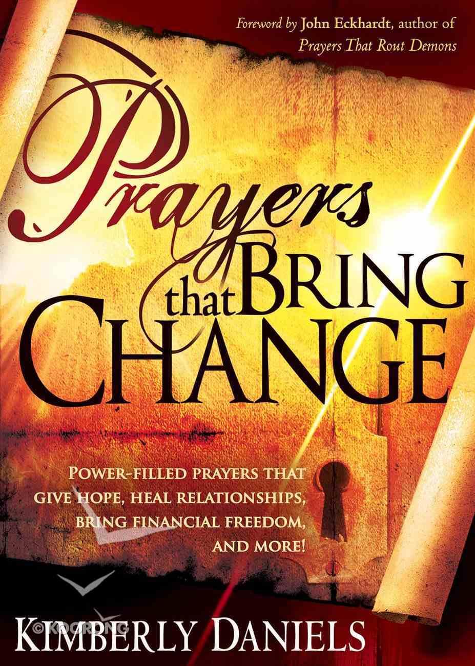 Prayers That Bring Change eBook