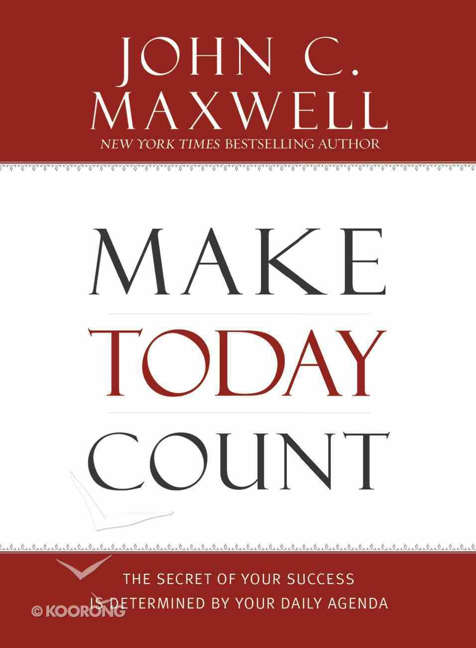 Make Today Count eBook
