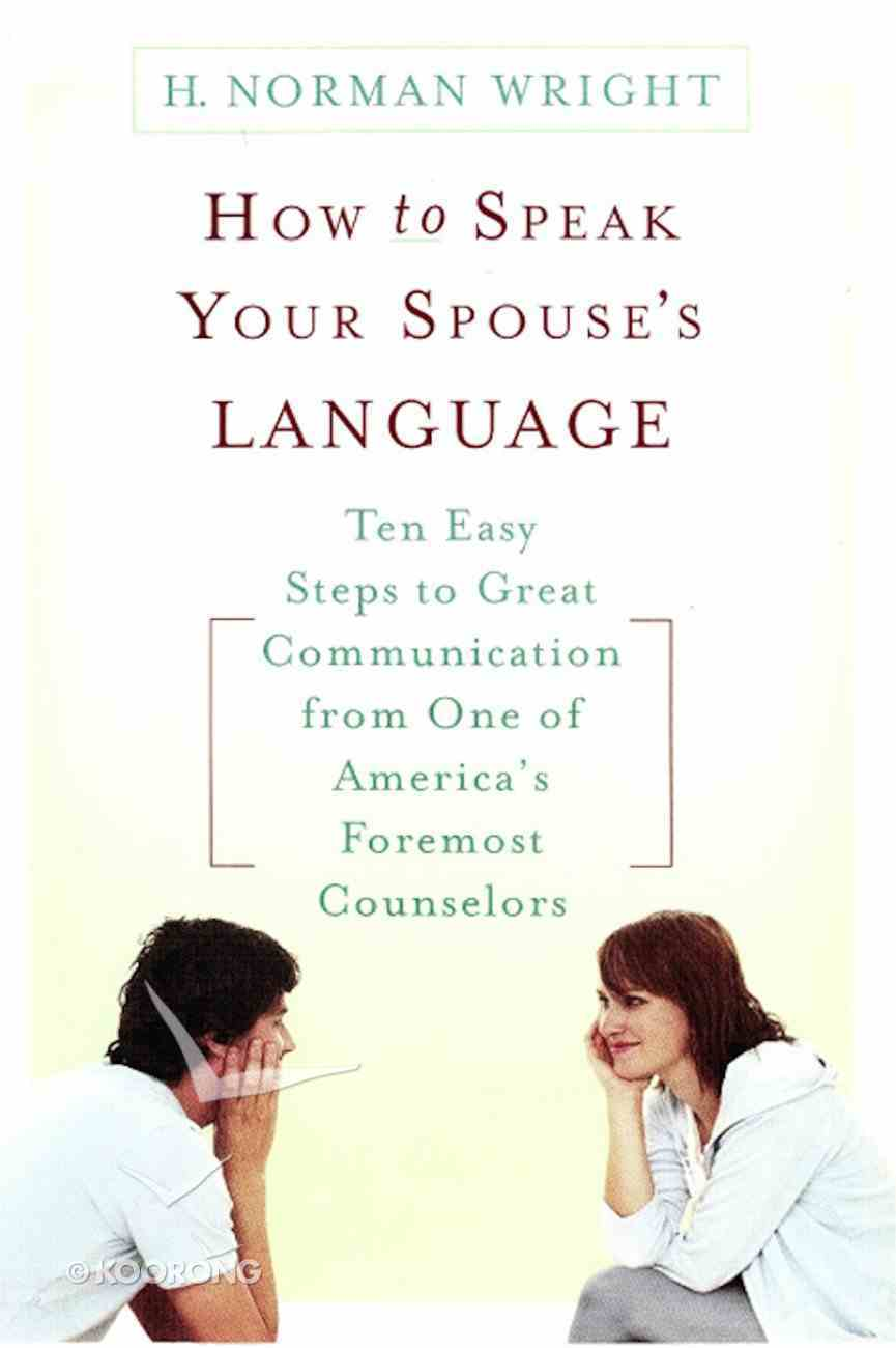 How to Speak Your Spouse's Language eBook