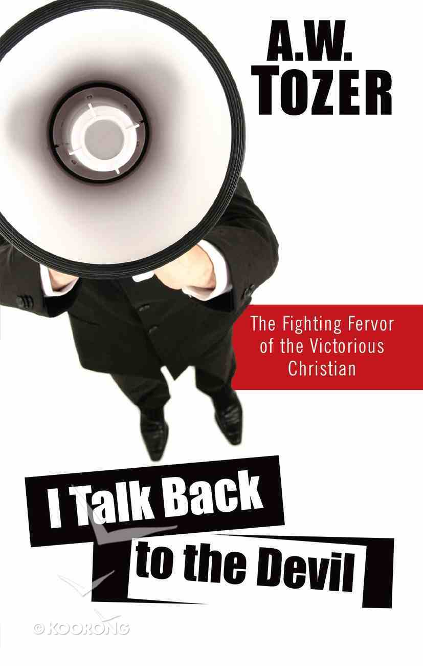 I Talk Back to the Devil eBook