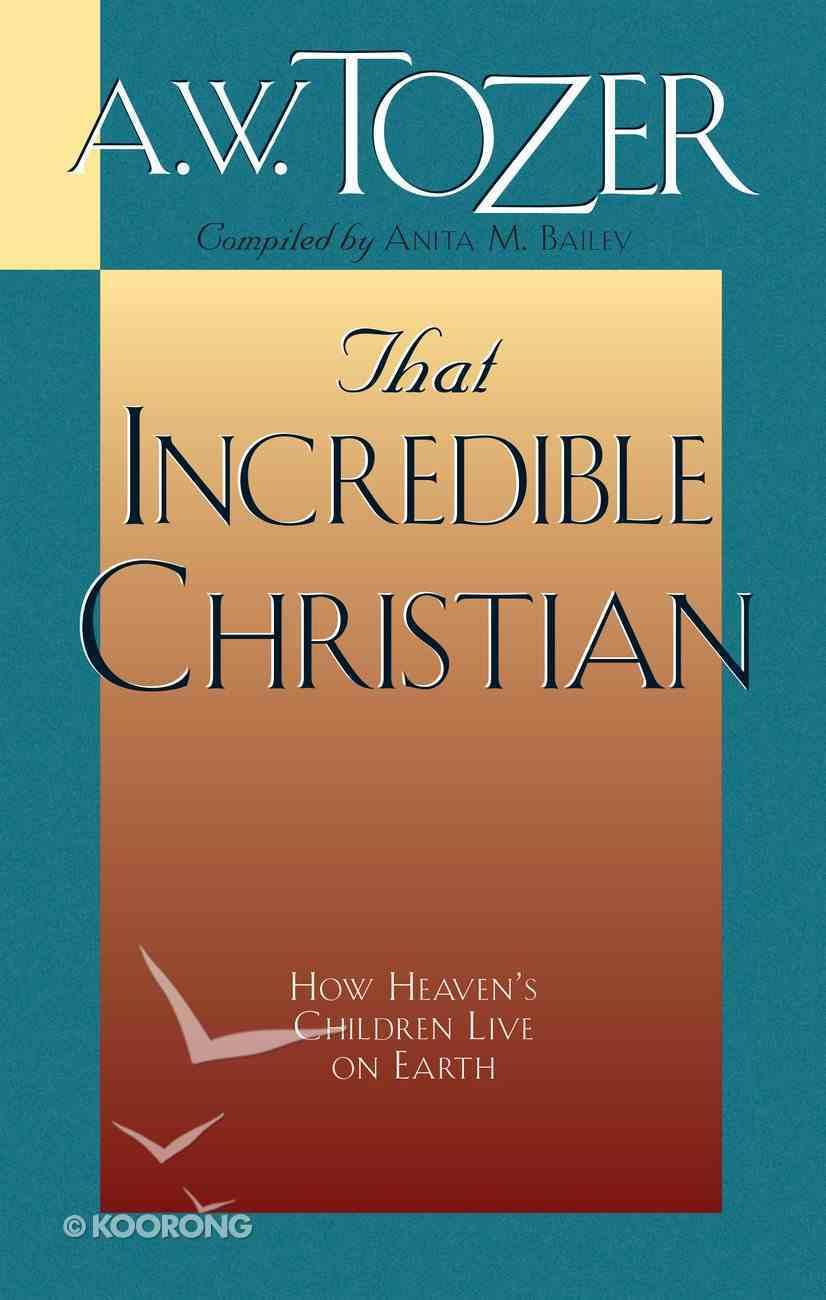 That Incredible Christian eBook
