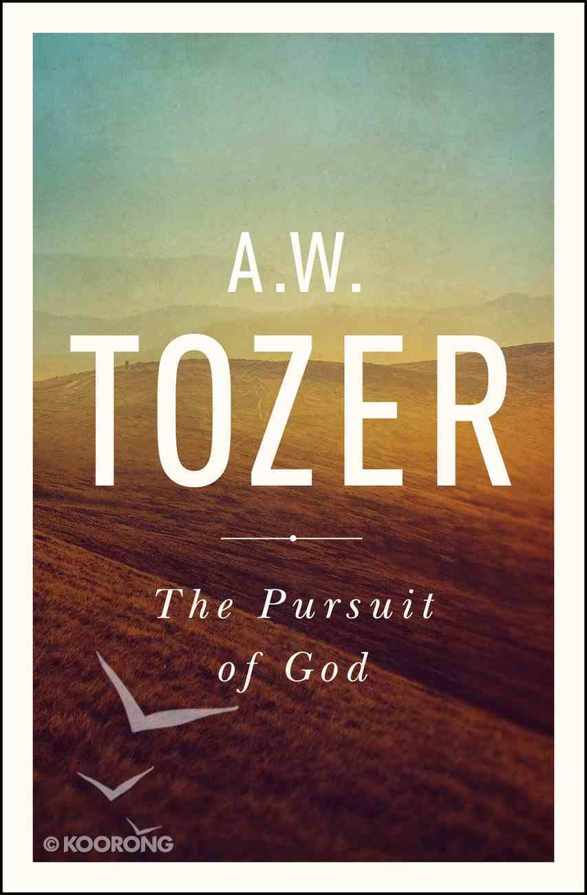 The Pursuit of God eBook
