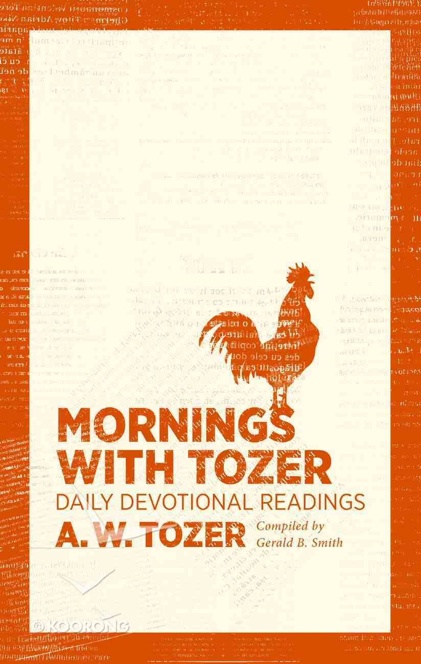 Mornings With Tozer eBook