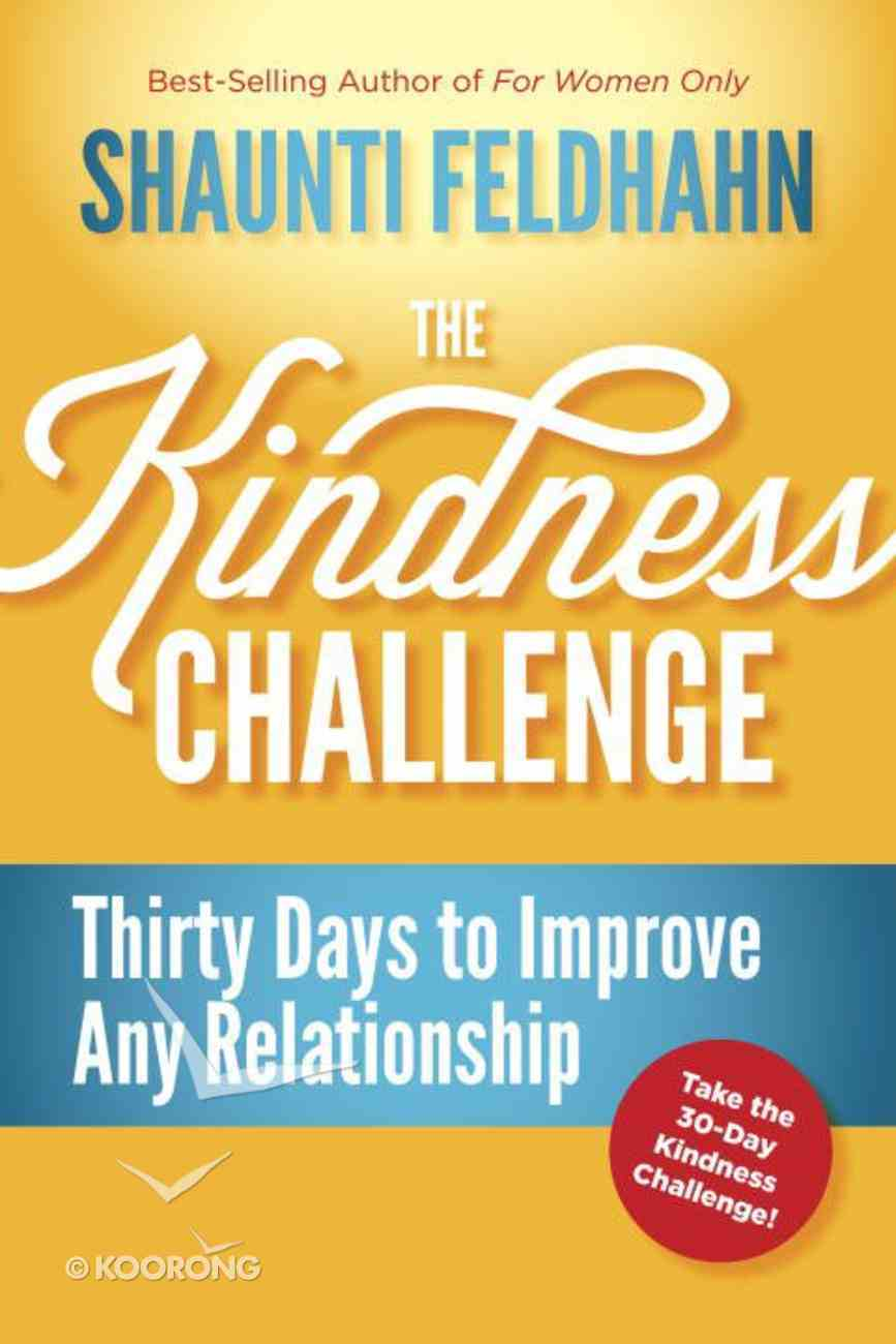 The Kindness Challenge eBook