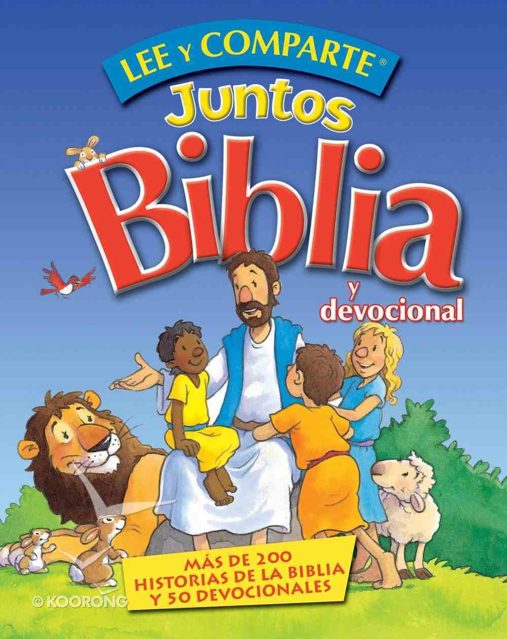 Lee Y Comparte Juntos Biblia Y Devocional (Spanish) (Spa) (Lee & Shares Together Bible And Devotion) eBook