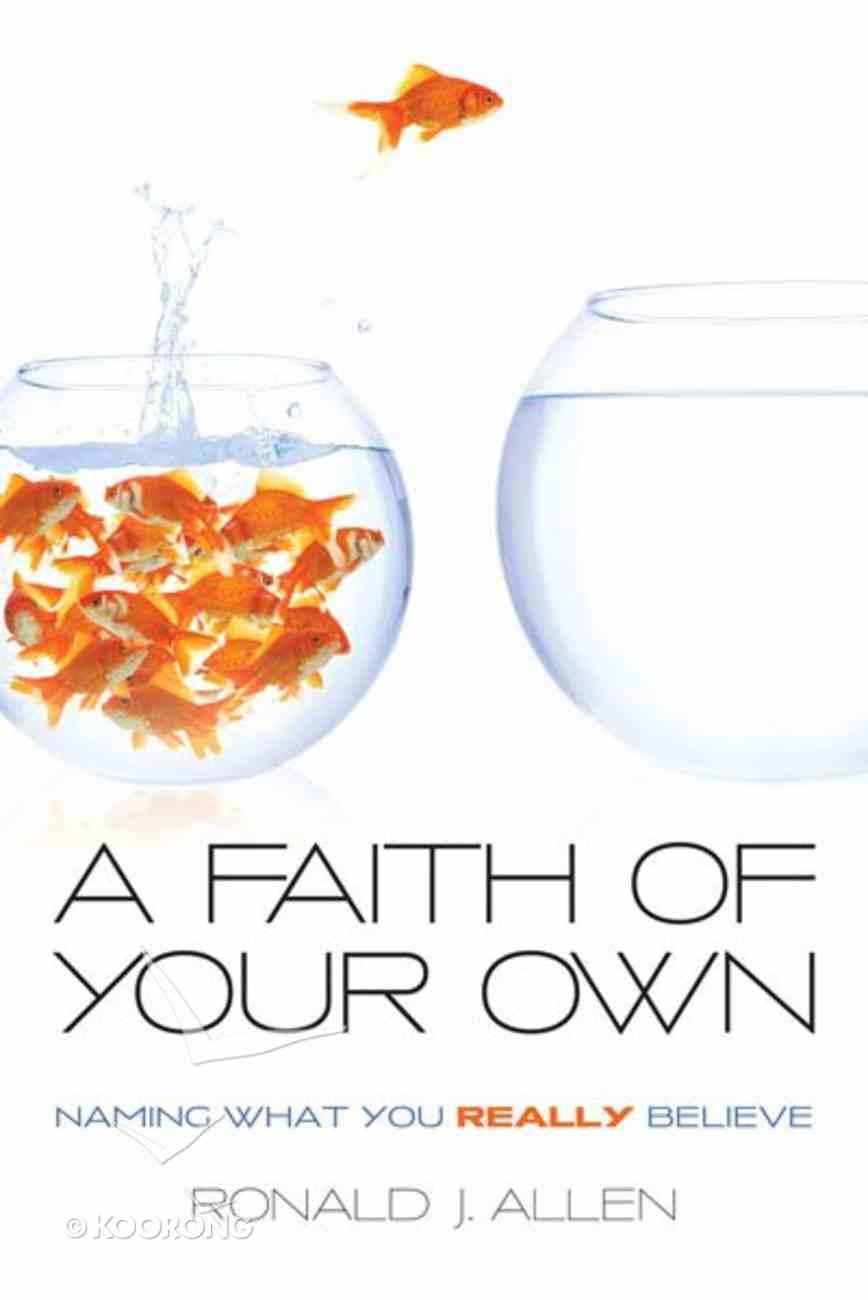 Faith of Your Own eBook