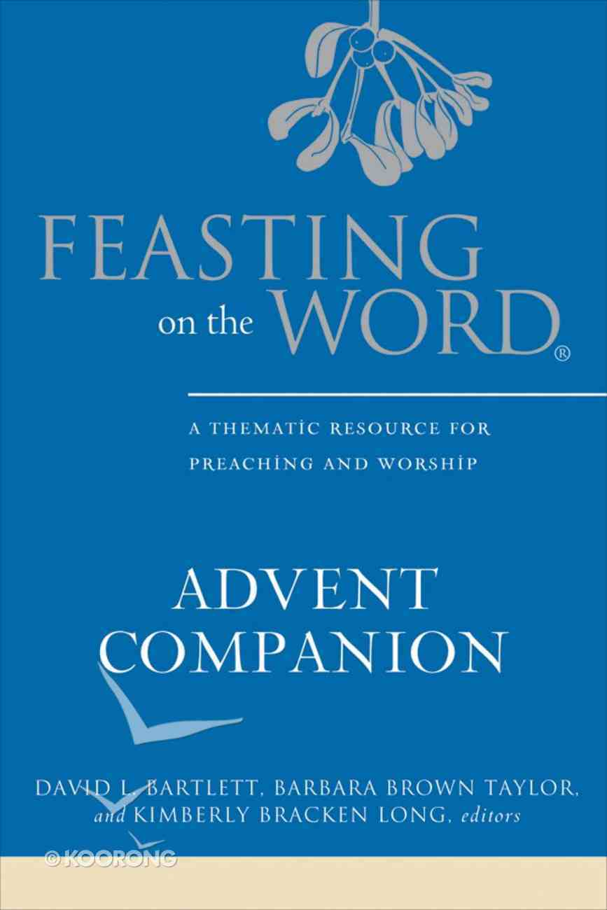 Feasting on the Word Advent Companion eBook
