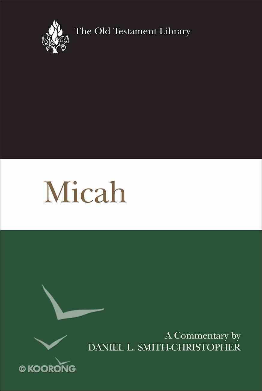Micah (New Testament Library Series) eBook
