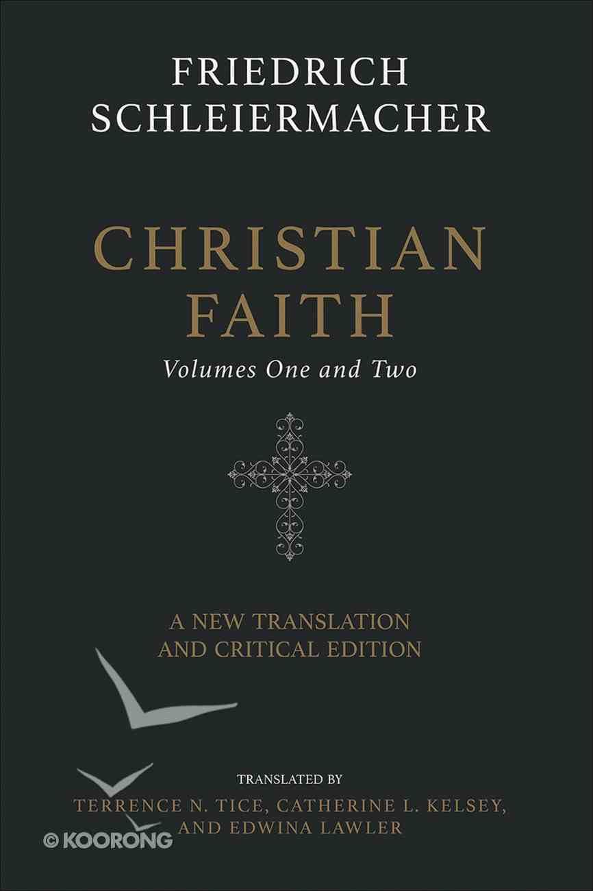 Christian Faith (Two-volume Set) eBook