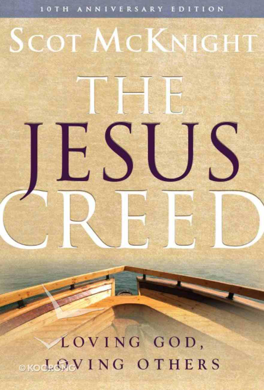 The Jesus Creed eBook