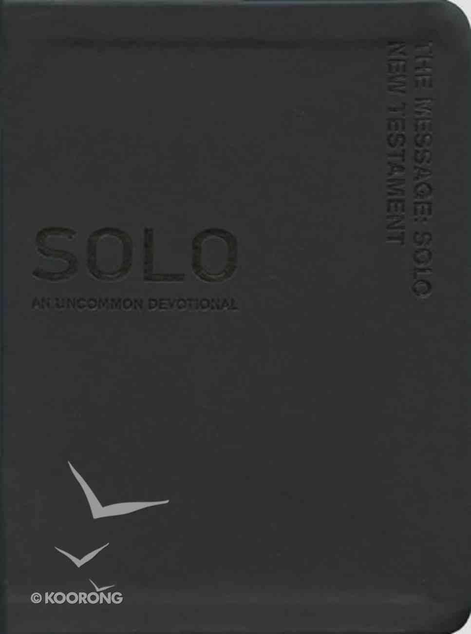 Solo New Testament Devotional Black (The Message) eBook