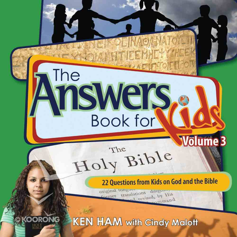Answers Book For Kids #03: God and the Bible eBook
