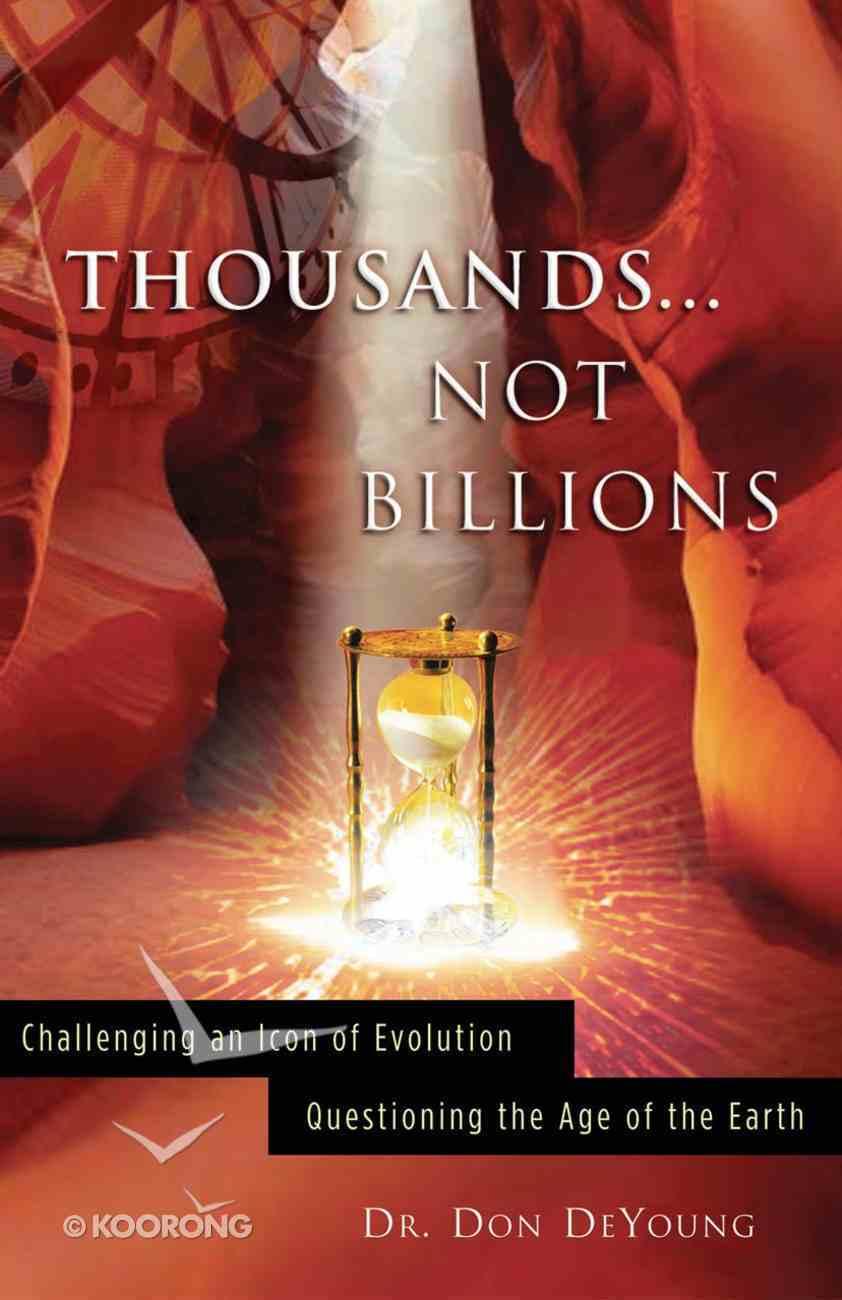 Thousands... Not Billions eBook