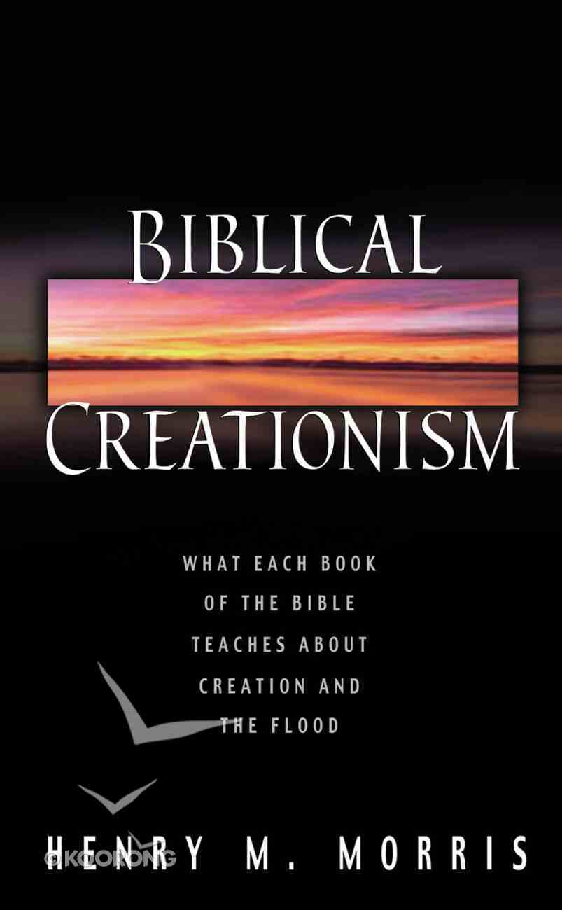 Biblical Creationism eBook