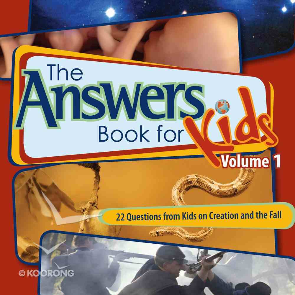Answers Book For Kids #01: Creation and the Fall eBook