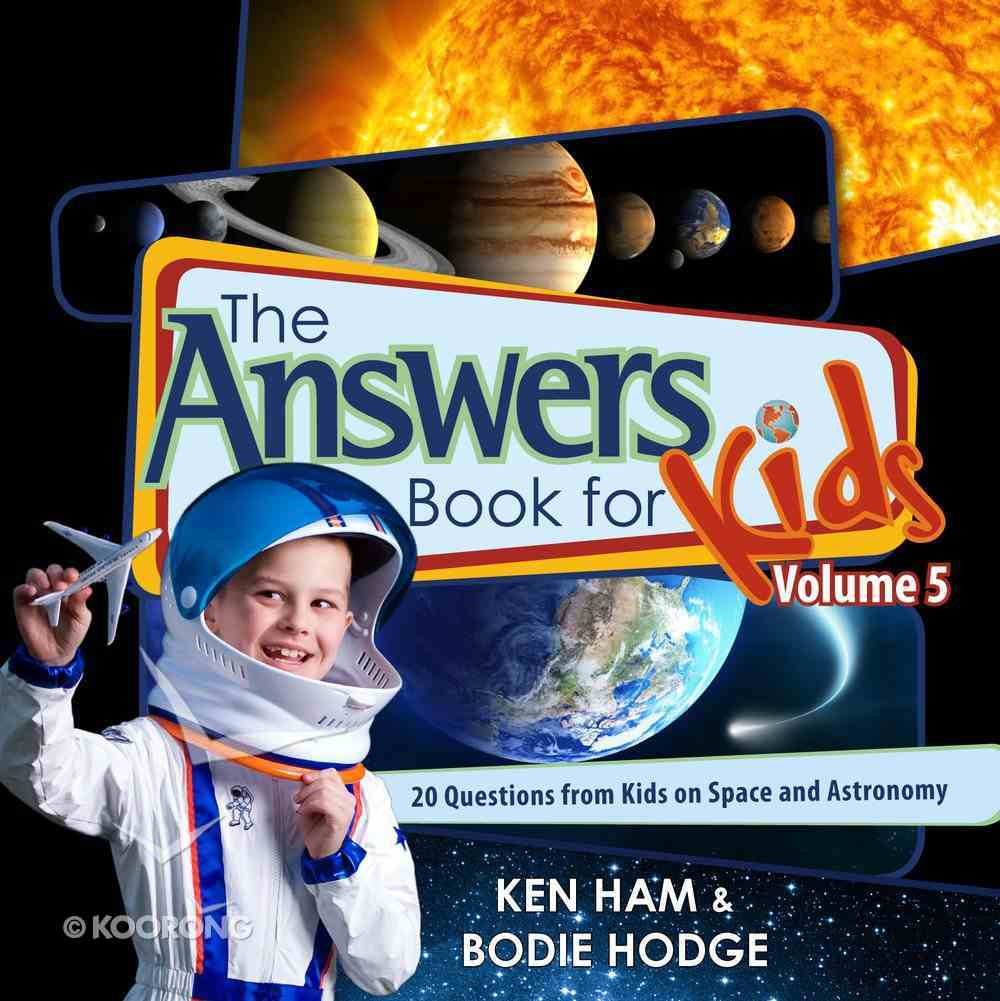 Answers Book For Kids Volume 5 eBook
