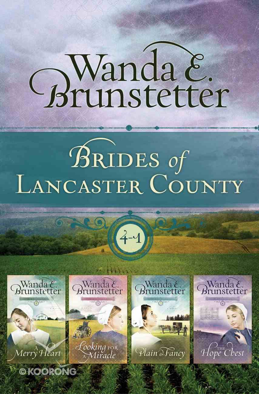 The Brides of Lancaster County (4 in 1) (Brides Of Lancaster County Series) eBook