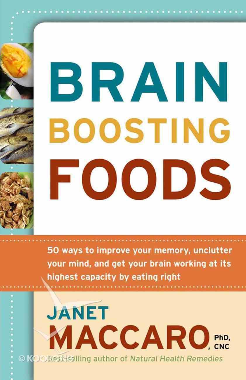 Brain Boosting Foods eBook