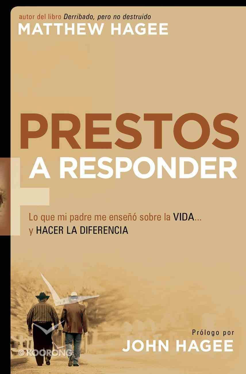 Prestos a Responder (Spanish) (Spa) (Response-able) eBook