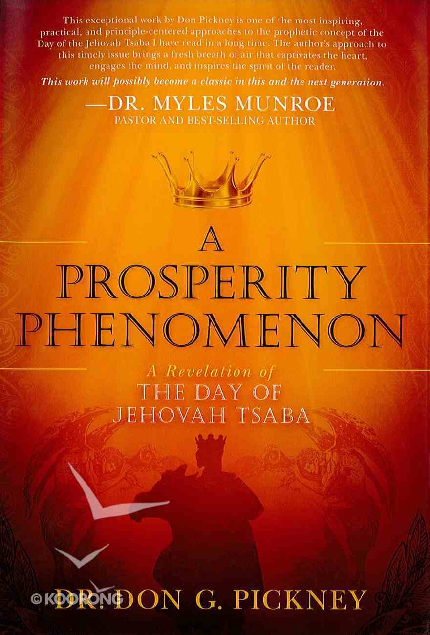 A Prosperity Phenomenon eBook