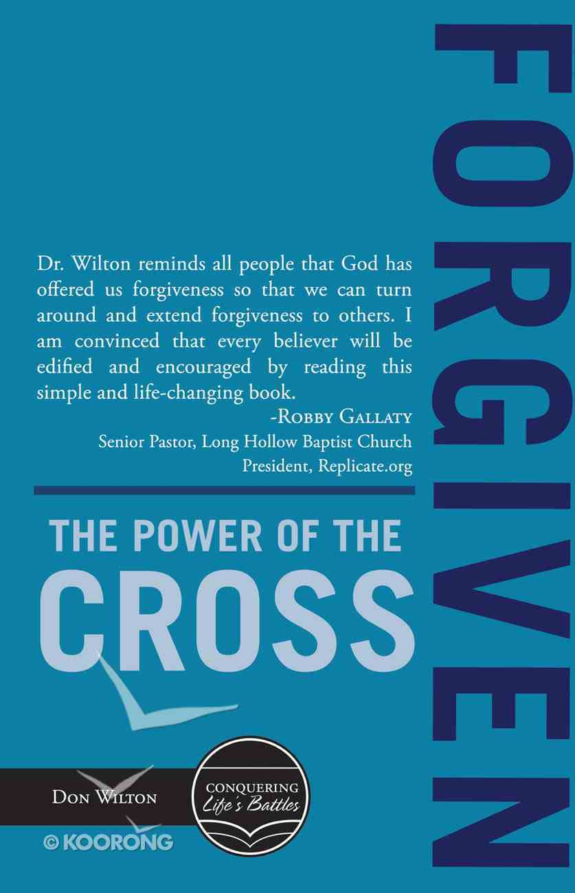 Forgiven: The Power of the Cross eBook