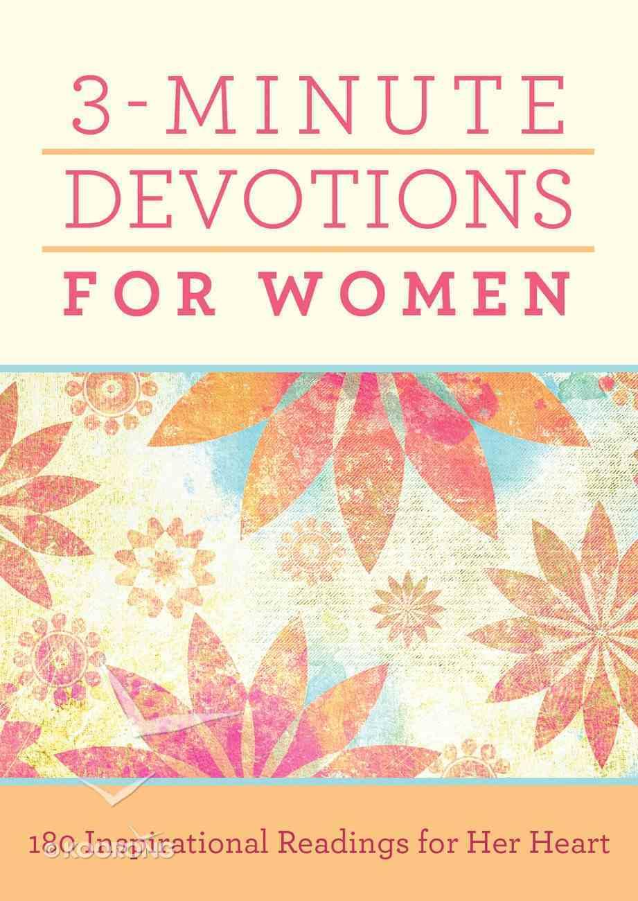 3-Minute Devotions For Women eBook