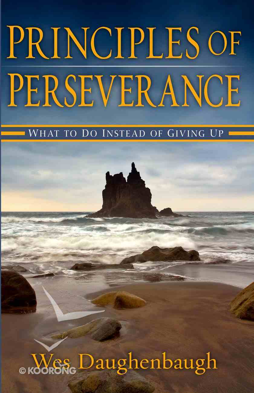 Principles of Perseverance eBook