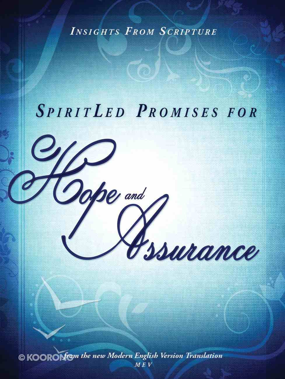 Spiritled Promises For Hope and Assurance eBook