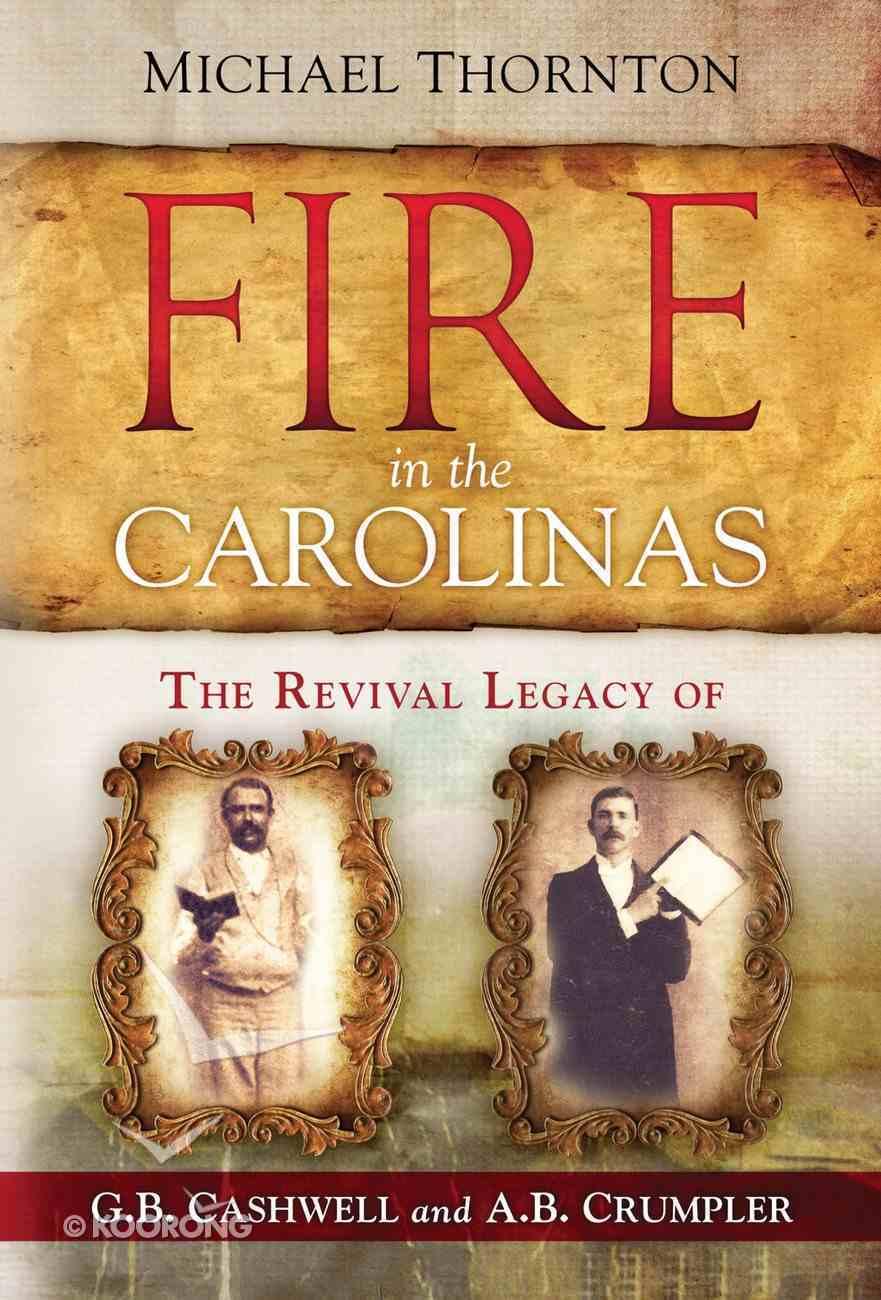 Fire in the Carolinas eBook