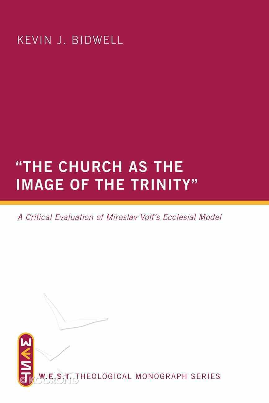 The Church as the Image of the Trinity eBook
