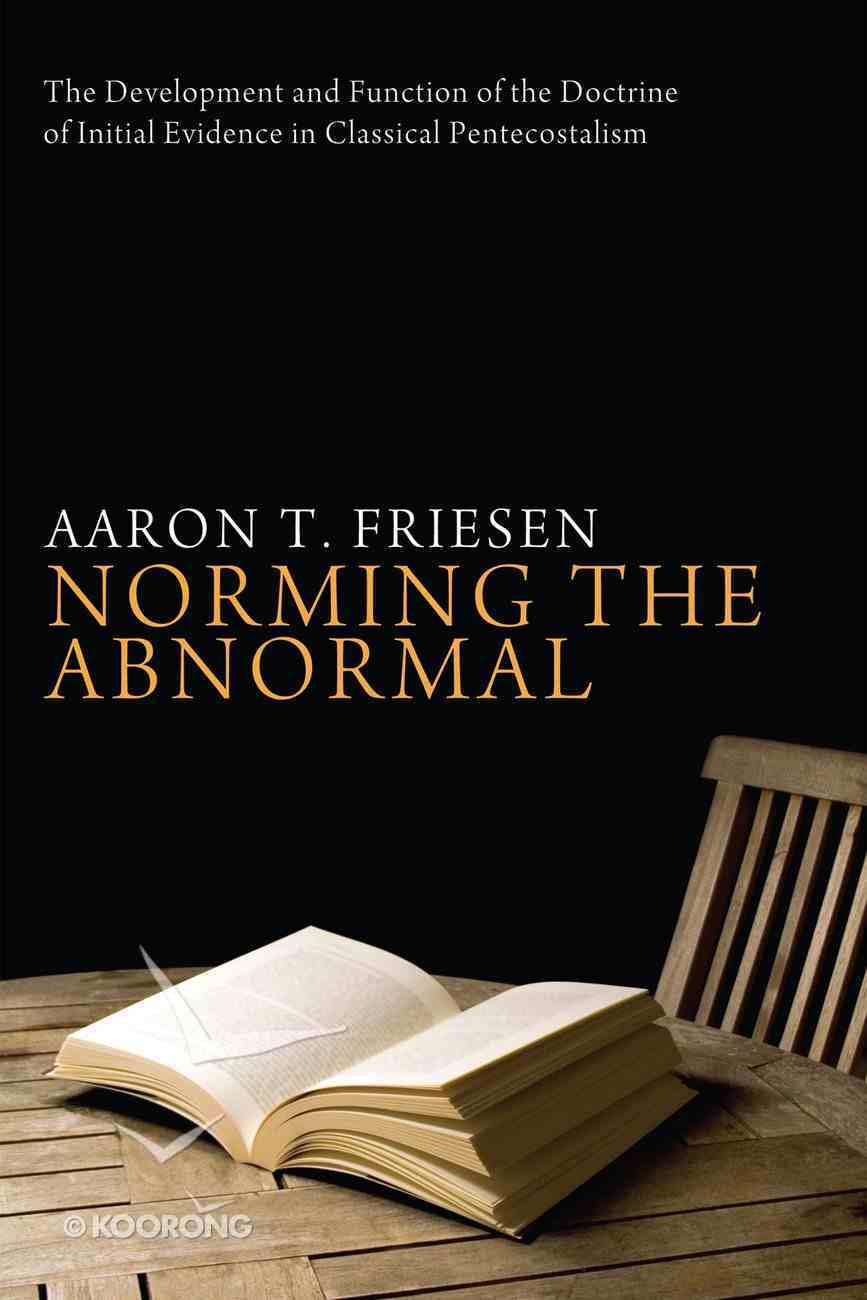 Norming the Abnormal eBook
