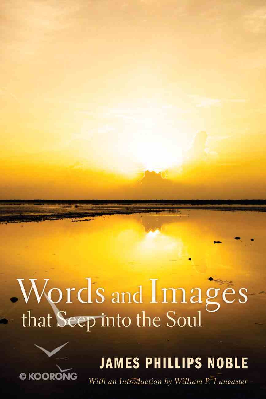 Words and Images That Seep Into the Soul eBook