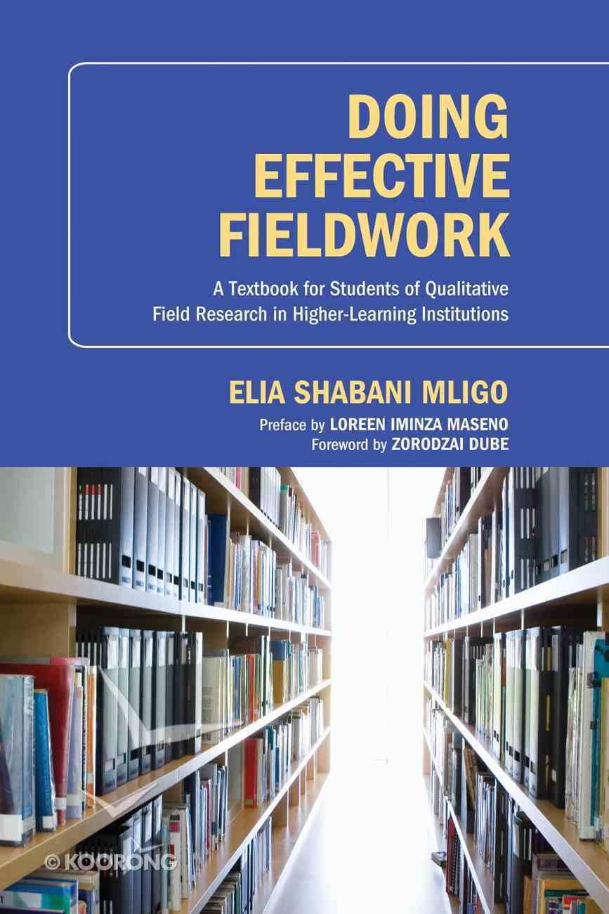 Doing Effective Fieldwork eBook