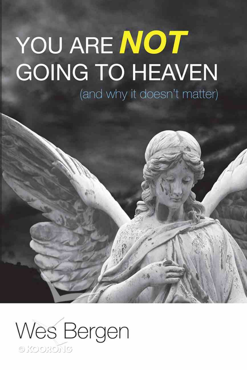 You Are Not Going to Heaven (And Why It Doesn't Matter) eBook