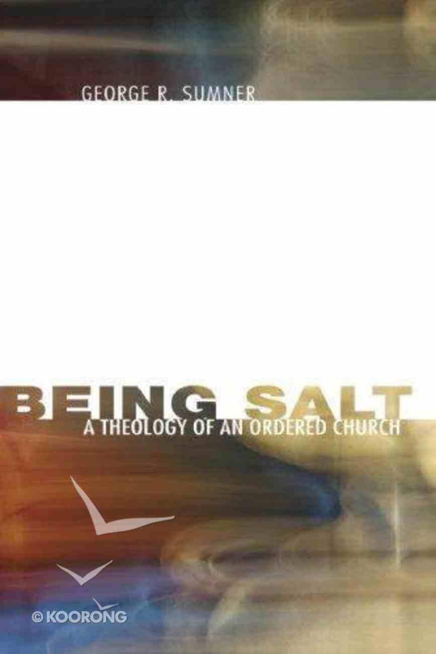 Being Salt eBook