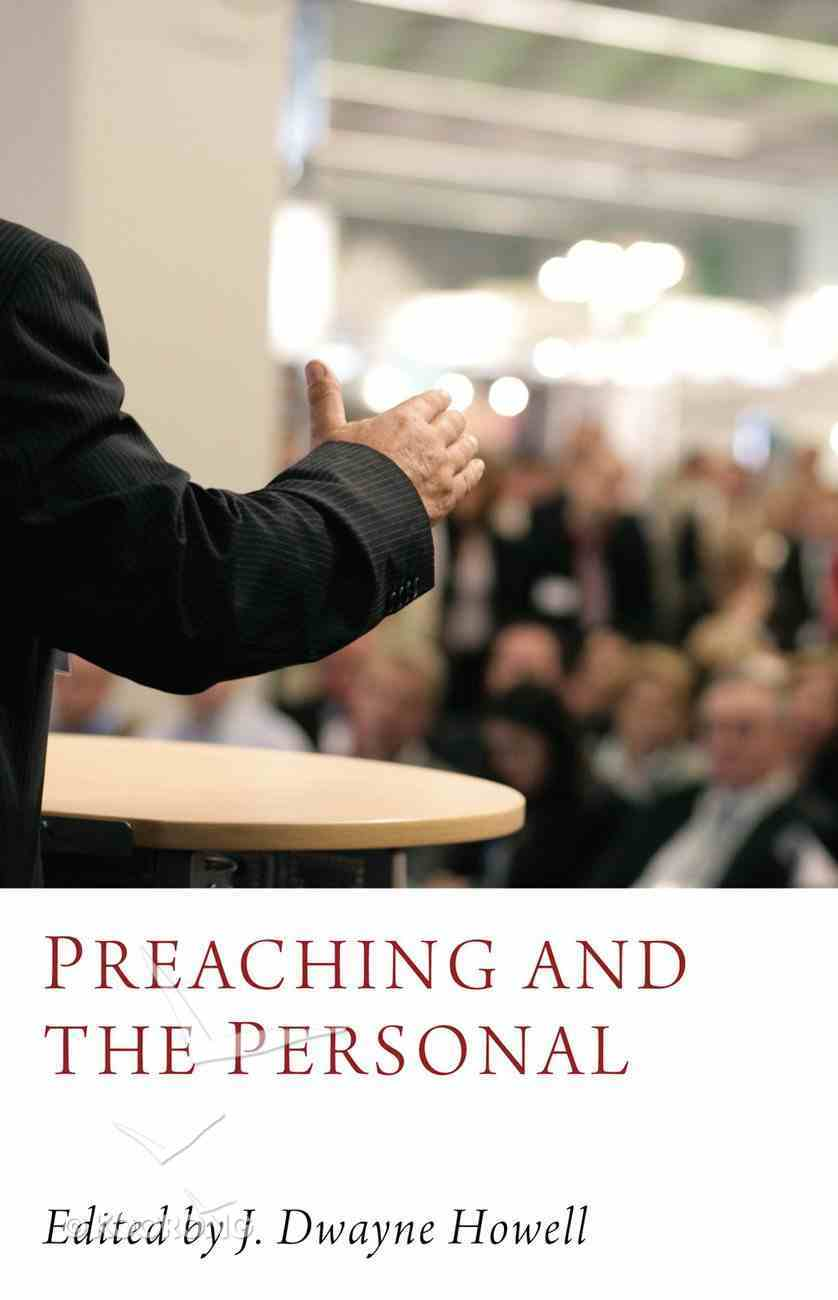 Preaching and the Personal eBook